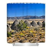 Wards Charcoal Ovens View Shower Curtain