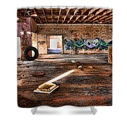 Warehouse Shower Curtain