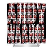 Warhol 3 Shower Curtain