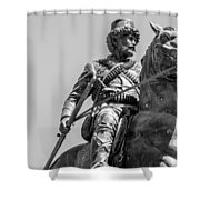 Warhorse Shower Curtain