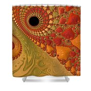 Warm And Earthy Shower Curtain
