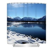 Warm December Shower Curtain