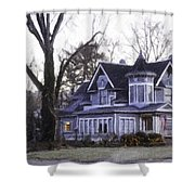 Warm Springs Avenue Home Series 4 Shower Curtain