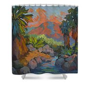 Warm Summer Afternoon 2 Shower Curtain