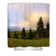 Warm The Soul Shower Curtain by Chad Dutson