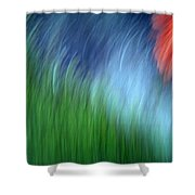 Warmth Of The Heart Shower Curtain