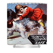 Warner's Safe Cure  Shower Curtain