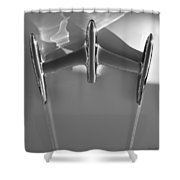 Warp Drive - Star Trek Abstract Shower Curtain by Steven Milner