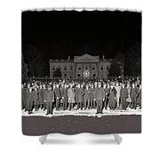 Warren Harding Elected President Election Night National Photo Co. White House Washington D.c.1920 Shower Curtain