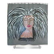 Warrior Woman #2 Shower Curtain