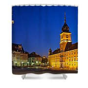Warsaw By Night Shower Curtain
