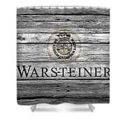 Warsteiner Shower Curtain