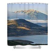 Wasatch Dawn Shower Curtain