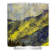 Wasatch Range Spring Colors Shower Curtain