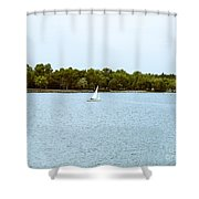 Wascana -22 Shower Curtain