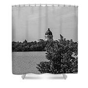 Wascana-30 Shower Curtain