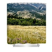 Washake Wilderness Shower Curtain