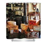 Washboards And Soap Shower Curtain