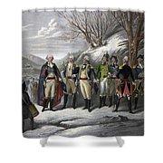 Washington & Generals Shower Curtain