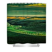Washington Barn 6 Shower Curtain