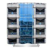 Washington Building Shower Curtain