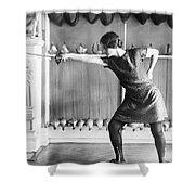 Washington Champion Fencer Shower Curtain