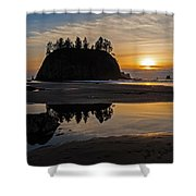 Washington Coast Tranquility Shower Curtain