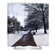 Washington College Shower Curtain