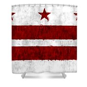 Washington D.c. Flag Shower Curtain