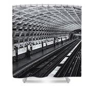 Washington Dc Metro Station I Shower Curtain