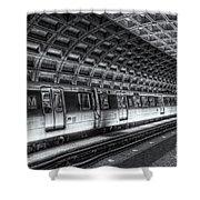 Washington Dc Metro Station Vi Shower Curtain