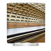 Washington Dc Metro Station Vii Shower Curtain