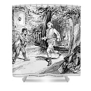 Washington Exercise Shower Curtain