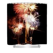Washington Monument Fireworks 2 Shower Curtain