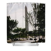 Washington Monument Shower Curtain