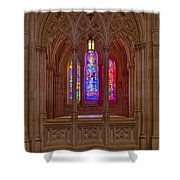 Washington National Cathedral Colors Shower Curtain
