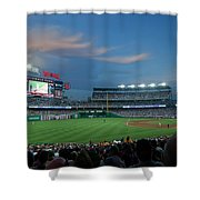 Washington Nationals In Our Nations Capitol Shower Curtain