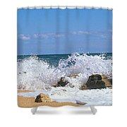 Washington Oaks State Park, Fla Shower Curtain
