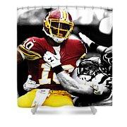 Washington Redskins Rg3 Shower Curtain