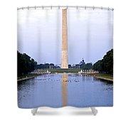 Washington Reflects Shower Curtain
