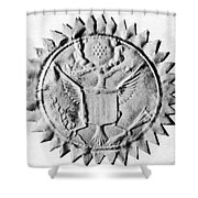 Washington Seal Shower Curtain