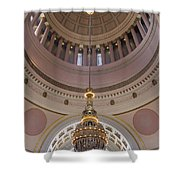Washington State Capitol Building Chandelier Closeup Shower Curtain