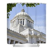 Washington State Capitol Building Dome Shower Curtain