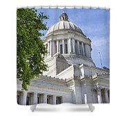 Washington State Capitol Building Shower Curtain