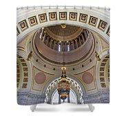 Washington State Capitol Building Rotunda Shower Curtain