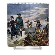 Washington: Valley Forge Shower Curtain