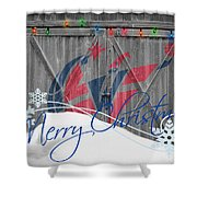 Washington Wizards Shower Curtain
