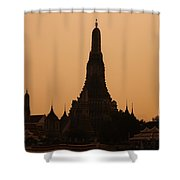 Wat Arun Shower Curtain