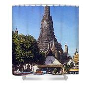 Wat Arun Shower Curtain