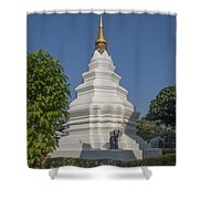 Wat Duang Dee Phra Chedi Dthcm0299 Shower Curtain